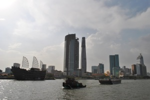 Ho Chi Minh City (Saigon) today from the river