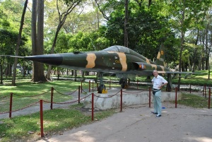Richard Fell with the plane which he watched bomb the Presidential Palace back in April 1975